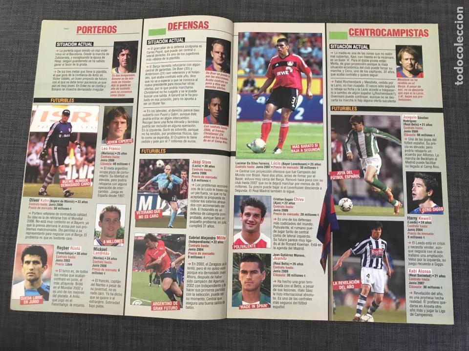 Coleccionismo deportivo: Don balón 1439 - póster Saviola - Barcelona - Guti - Oporto - Copas Europeas - Foto 3 - 163565605