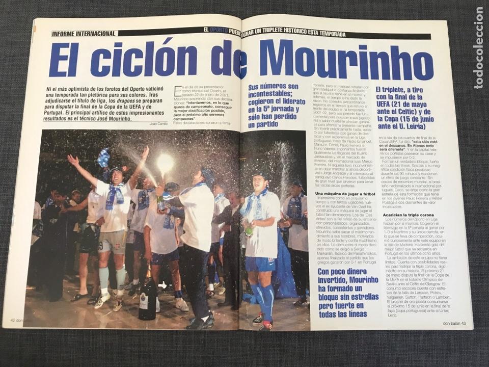 Coleccionismo deportivo: Don balón 1439 - póster Saviola - Barcelona - Guti - Oporto - Copas Europeas - Foto 6 - 163565605