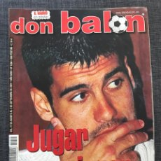 Coleccionismo deportivo: DON BALÓN 1350 - GUARDIOLA - XAVI HERNÁNDEZ - BARCELONA. Lote 163577140