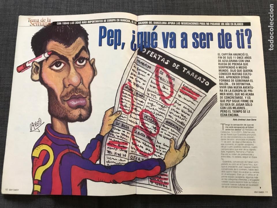 Coleccionismo deportivo: Don balón 1350 - Guardiola - Xavi Hernández - Barcelona - Foto 2 - 163577140