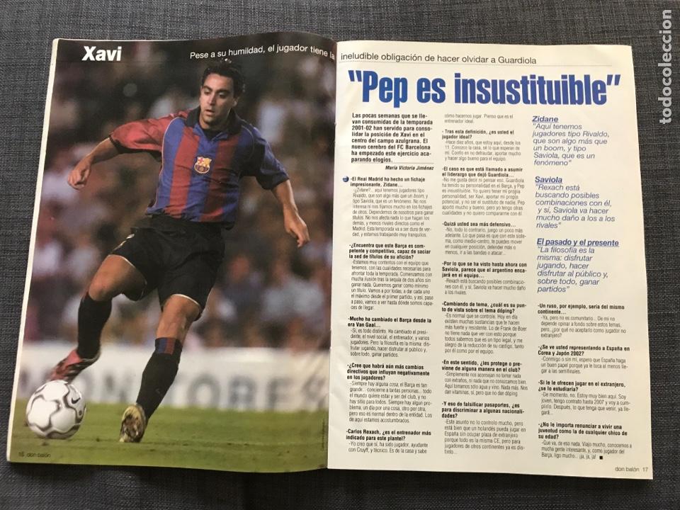 Coleccionismo deportivo: Don balón 1350 - Guardiola - Xavi Hernández - Barcelona - Foto 3 - 163577140