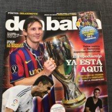 Coleccionismo deportivo: DON BALÓN 1767 - MESSI - BARCELONA - CHAMPIONS - HIGUAÍN - ARGENTINA - BRASIL. Lote 163577549