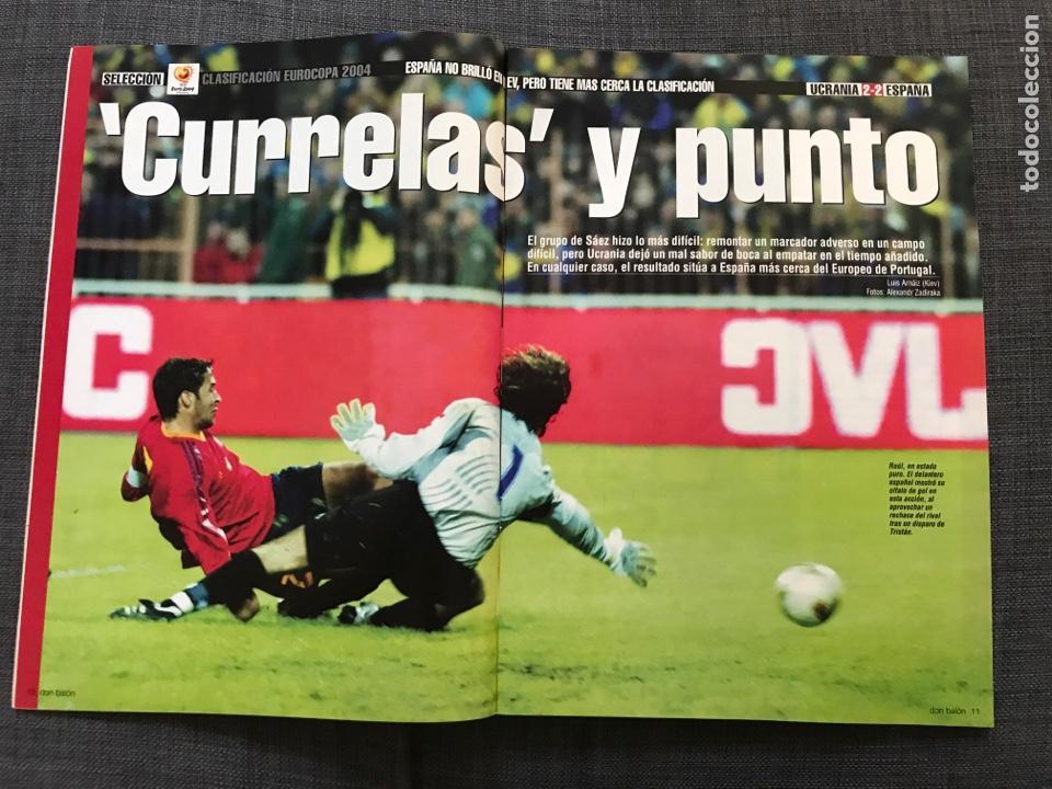 Coleccionismo deportivo: Don balón 1433 - Raúl - España - Dzajic - Carew - Brasil - Van Nistelrooy - Recreativo - Motta - Foto 2 - 163578338