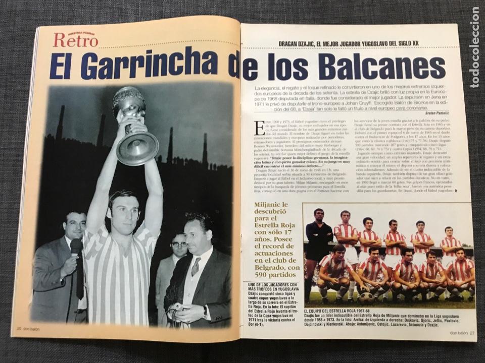 Coleccionismo deportivo: Don balón 1433 - Raúl - España - Dzajic - Carew - Brasil - Van Nistelrooy - Recreativo - Motta - Foto 4 - 163578338