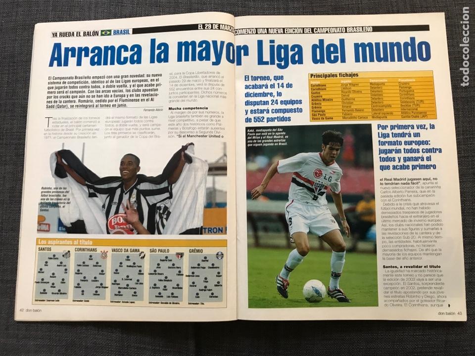 Coleccionismo deportivo: Don balón 1433 - Raúl - España - Dzajic - Carew - Brasil - Van Nistelrooy - Recreativo - Motta - Foto 6 - 163578338