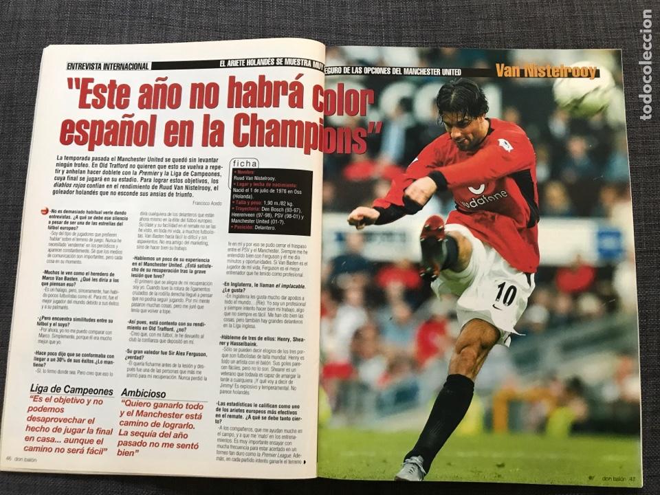 Coleccionismo deportivo: Don balón 1433 - Raúl - España - Dzajic - Carew - Brasil - Van Nistelrooy - Recreativo - Motta - Foto 7 - 163578338