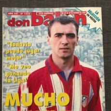 Coleccionismo deportivo: DON BALÓN 1045 - ATLÉTICO MADRID - PÓSTER ESPAÑA - COMPOSTELA - COPAS EUROPEAS. Lote 163579602