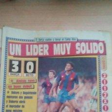 Coleccionismo deportivo: DIARIO SPORT - BARÇA 3-BETIS 0 - 17/10/1988. Lote 163584742