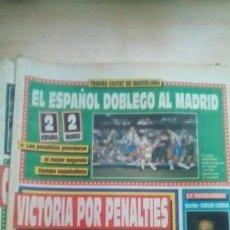 Coleccionismo deportivo: DIARIO SPORT - VALLADOLID 1-BARÇA 1 - 26/08/1990. Lote 163585258