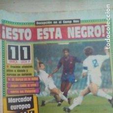 Coleccionismo deportivo: DIARIO SPORT - BARÇA1 - LECH P. 1 - 27/10/1988. Lote 163585526