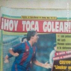 Coleccionismo deportivo: DIARIO SPORT - EURO.BARÇA - 26/10/1988. Lote 163585666