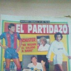 Coleccionismo deportivo: DIARIO SPORT - MADRID-BARÇA - 21/09/1988. Lote 163587638