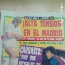 Coleccionismo deportivo: DIARIO SPORT - A 24 HORAS DE LA SUPERCOPA - 20/09/1988. Lote 163587746
