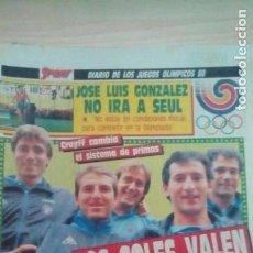 Coleccionismo deportivo: DIARIO SPORT - CRUYFF - 16/09/1988. Lote 163588146