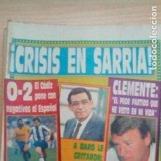 Coleccionismo deportivo: DIARIO SPORT - CRUYFF - 24/10/1988. Lote 163588330