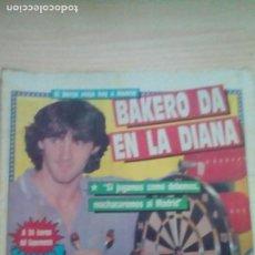 Coleccionismo deportivo: DIARIO SPORT - BAKERO - 21/10/1988. Lote 163588574