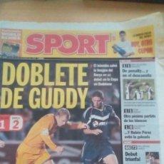 Coleccionismo deportivo: DIARIO SPORT - BADALONA 1-BARÇA 2 - 26/10/2006. Lote 163590086