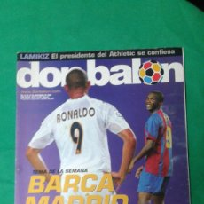 Coleccionismo deportivo: REVISTA DON BALON, BARCA -REAL MADRID, A VER SI ME PILLAS. Lote 163743830
