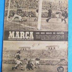 Coleccionismo deportivo: MARCA. SEMANARIO GRÁFICO DE LOS DEPORTES. 1 DE JUNIO 1948. SELECCIÓN ESPAÑOLA.. Lote 163752534