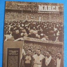 Coleccionismo deportivo: MARCA. SEMANARIO GRÁFICO DEPORTES. 13 DE JUNIO 1950. DESFILE DE EQUIPOS: SANTANDER, LOGROÑÉS.. Lote 163776310