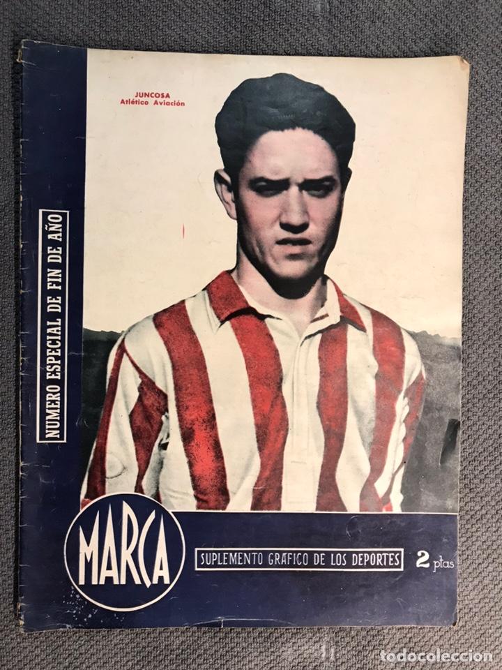 FÚTBOL. MARCA, REVISTA SUPLEMENTO GRÁFICO AÑO III. NO.108 (A.1944) (Coleccionismo Deportivo - Revistas y Periódicos - Marca)