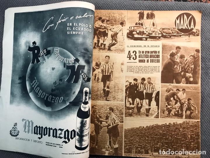 Coleccionismo deportivo: FÚTBOL. MARCA, Revista suplemento gráfico AÑO III. No.108 (a.1944) - Foto 2 - 163789381