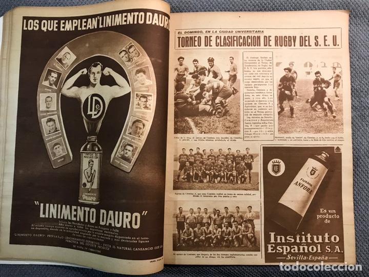 Coleccionismo deportivo: FÚTBOL. MARCA, Revista suplemento gráfico AÑO III. No.108 (a.1944) - Foto 5 - 163789381