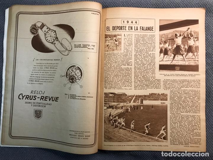 Coleccionismo deportivo: FÚTBOL. MARCA, Revista suplemento gráfico AÑO III. No.108 (a.1944) - Foto 6 - 163789381