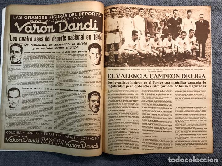 Coleccionismo deportivo: FÚTBOL. MARCA, Revista suplemento gráfico AÑO III. No.108 (a.1944) - Foto 7 - 163789381