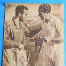 Coleccionismo deportivo: MARCA. SEMANARIO GRÁFICO DE LOS DEPORTES. 16 DE DICIEMBRE 1947. DESFILE DE EQUIPOS: OS BELENENSES.. Lote 163870938