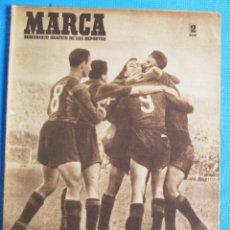 Coleccionismo deportivo: MARCA. SEMANARIO GRÁFICO DE LOS DEPORTES. 19 DE ABRIL 1949. LIGA DE FÚTBOL, BARCELONA CAMPEÓN.. Lote 163887858