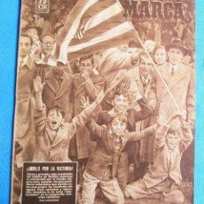 Coleccionismo deportivo: MARCA. SEMANARIO GRÁFICO DE LOS DEPORTES. 8 DE NOVIEMBRE 1949. LIGA DE FÚTBOL.. Lote 163921006