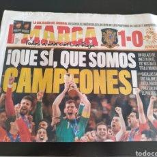 Coleccionismo deportivo: DIARIO MARCA MUNDIAL 2010 ESPAÑA CAMPEÓN. Lote 163857188