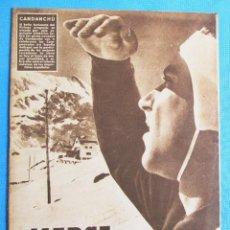 Coleccionismo deportivo: MARCA. SEMANARIO GRÁFICO DE LOS DEPORTES. 22 DE FEBRERO 1949. LIGA DE FÚTBOL.. Lote 163949198