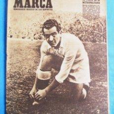 Coleccionismo deportivo: MARCA. SEMANARIO GRÁFICO DE LOS DEPORTES. 8 DE MARZO 1949. LIGA DE FÚTBOL.. Lote 163952078