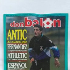 Coleccionismo deportivo: REVISTA DON BALÓN N 806 ABRIL 1991 ANTIC. Lote 164317842