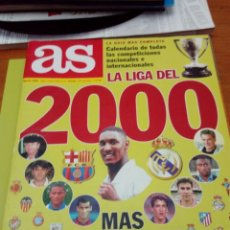 Coleccionismo deportivo: REVISTA AS. LA LIGA DEL 2000. EST3B1. Lote 164609694