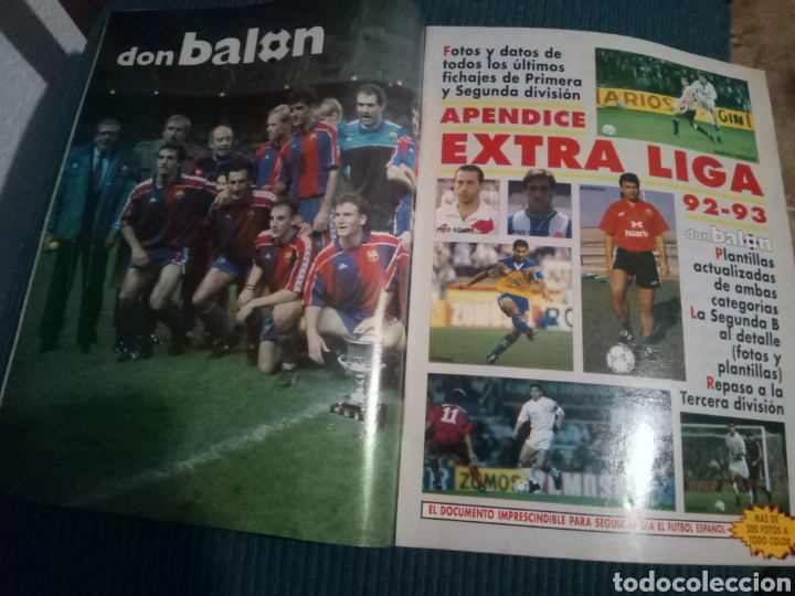 Coleccionismo deportivo: DON BALON 890 POSTER BARCELONA CAMPEON SUPERCOPA 1992 APENDICE EXTRA LIGA 92 93 - Foto 2 - 160506150
