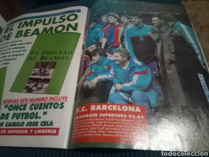 Coleccionismo deportivo: DON BALON 890 POSTER BARCELONA CAMPEON SUPERCOPA 1992 APENDICE EXTRA LIGA 92 93 - Foto 3 - 160506150