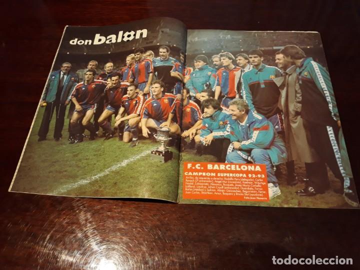 REVISTA DON BALON POSTER DEL BARCELONA CAMPEON DE LA SUPERCOPA 1992-93 (Coleccionismo Deportivo - Revistas y Periódicos - Don Balón)