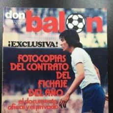 Coleccionismo deportivo: EVISTA DON BALON NUMERO 43- AÑO II 27 JULIO 1976.. Lote 164931082