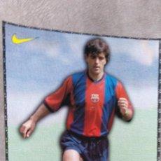 Coleccionismo deportivo: LÁMINA F.C. BARCELONA, NADAL. Lote 165182734