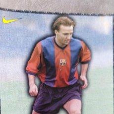 Coleccionismo deportivo: LÁMINA F.C. BARCELONA, ZENDEN. Lote 165182926