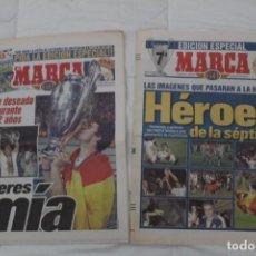 Coleccionismo deportivo: DIARIO MARCA. 21/05/1999 REAL MADRID SÉPTIMA CHAMPIONS LEAGUE Y EDICIÓN ESPECIAL (1999).. Lote 165490690