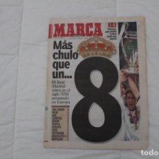 Coleccionismo deportivo: DIARIO MARCA. 25/05/2000. REAL MADRID OCTAVA CHAMPIONS LEAGUE (2000). Lote 165491070
