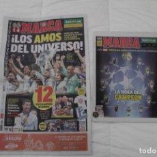 Coleccionismo deportivo: DIARIO MARCA. 04/06/2017. REAL MADRID DUODÉCIMA CHAMPIONS LEAGUE (2017). Lote 165493818