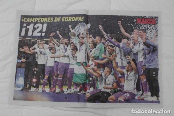Coleccionismo deportivo: DIARIO MARCA. 04/06/2017. REAL MADRID DUODÉCIMA CHAMPIONS LEAGUE (2017) - Foto 5 - 219494328