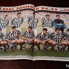Coleccionismo deportivo: POSTER DE LA REAL SOCIEDAD 94-95. Lote 165637194