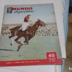 Coleccionismo deportivo: MUNDO DEPORTIVO - NUMERO 2 -. Lote 165983766