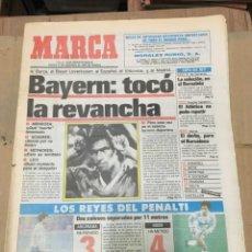Coleccionismo deportivo: MARCA (17 DICIEMBRE 1987) REAL MADRID BAYERN MUNICH LEVERKUSEN VITKOVICE FUTRE ATLETICO. Lote 166025474